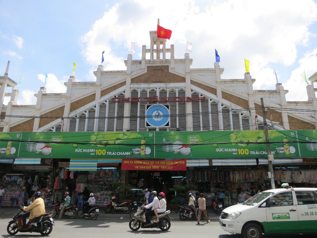 Kết quả hình ảnh cho Tan Dinh market