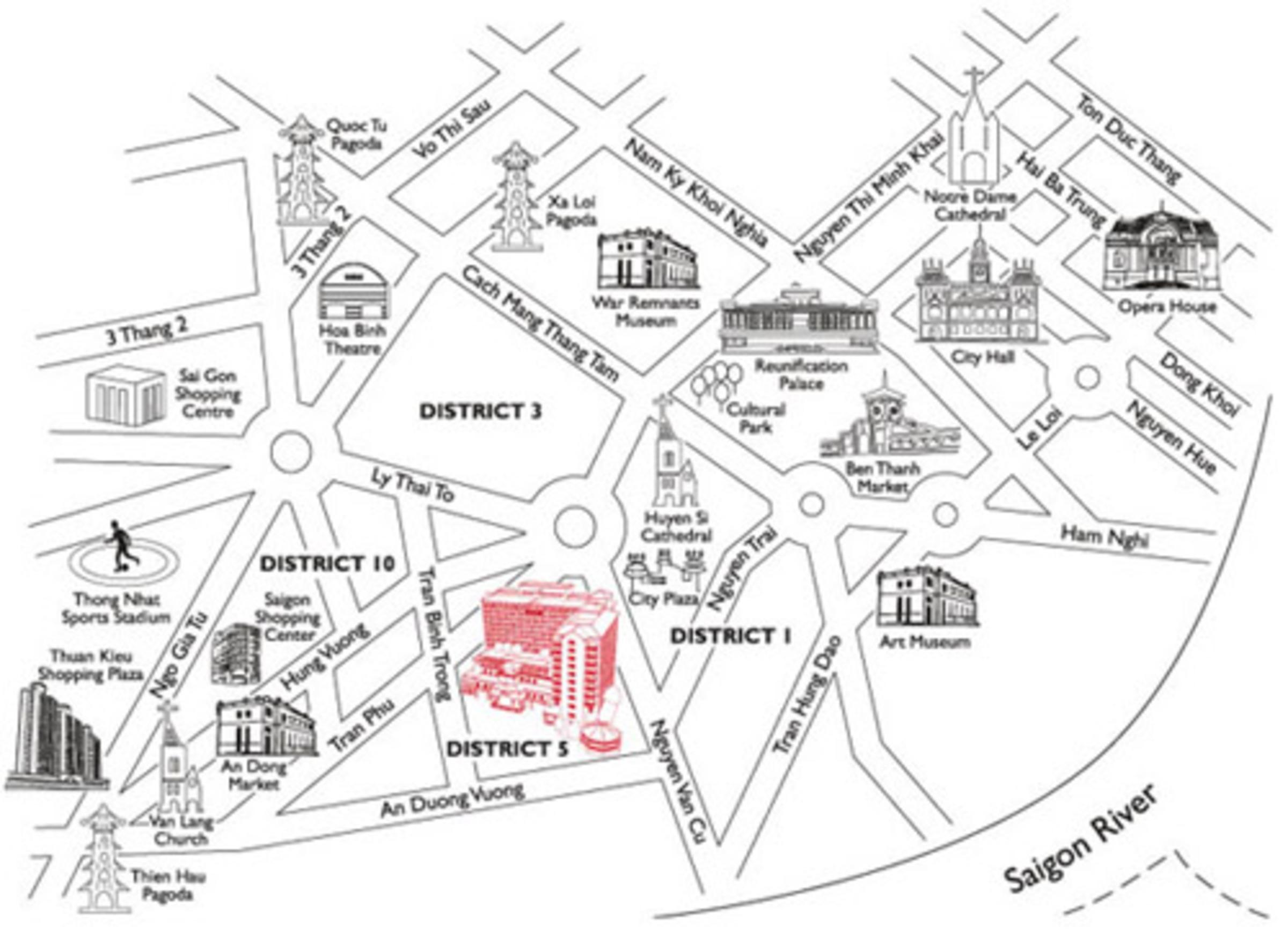 Ho Chi Minh City Equatorial Hotel Quan 5 Virtual Saigon