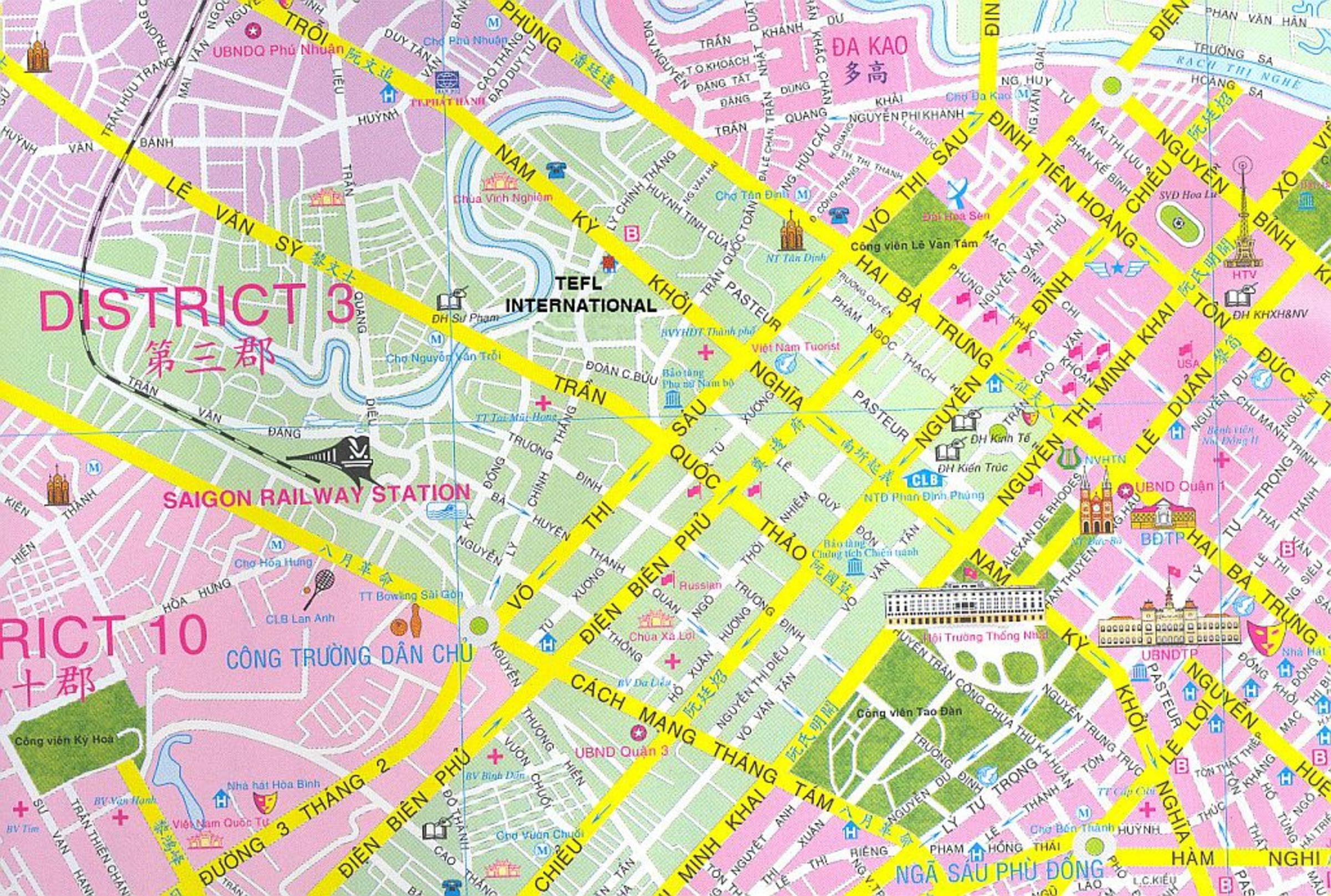 Quan 3 Ho Chi Minh City Map Virtual Saigon